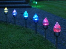 Quyosh lampalar dizayn