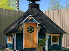 Сказочный садовый домик