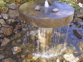 The original idea of a garden fountain
