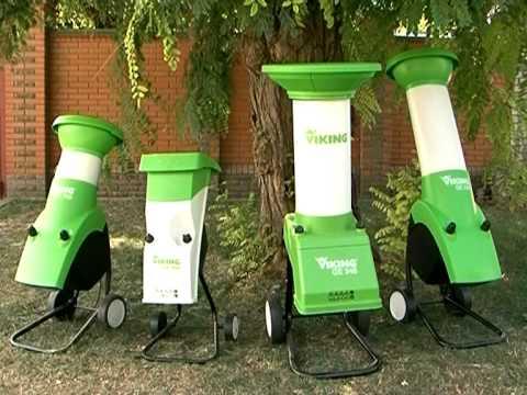 Разновидности садовых измельчителей