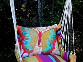 Soft garden swing