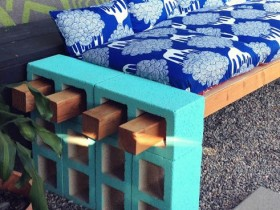 The idea of garden benches Alcobaca