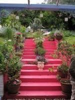 Creative garden stairs