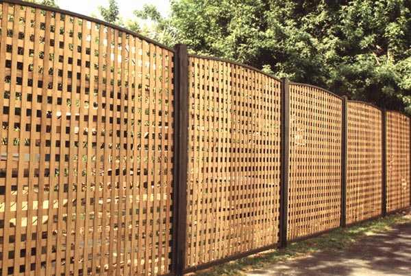 Ограждение участка забором своими руками 52