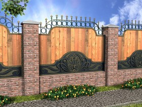 Design country fence