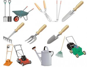 What garden tools should have gardeners for lawn care?