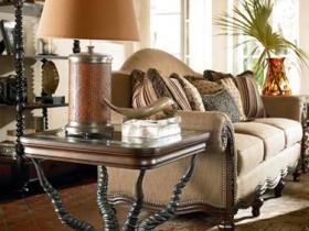 Столик в стиле сафари
