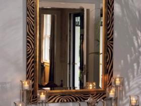 Зеркало в стиле сафари