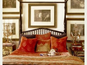 Кровать с элементами сафари