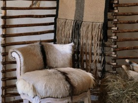Armchair in the style of Safari