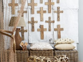 Плетень для стиля сафари