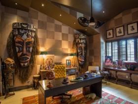 Личный кабинет в стиле сафари