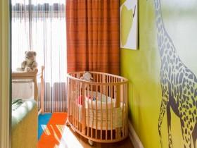 Интерьер детской комнаты в стиле сафари