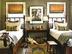 Комната в стиле сафари