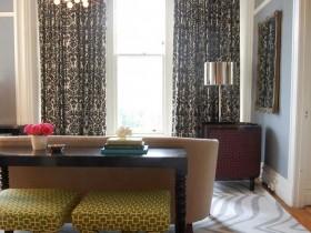 Интерьер гостиной сафари