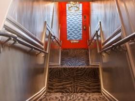 Лестница в стиле сафари