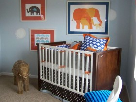 Дитяча кімната стилю сафарі