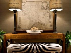 Furniture in Safari style