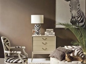 Кімната в стилі сафарі