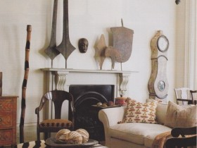 Элементы декора в стиле сафари