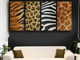 Safari style in the modern interior