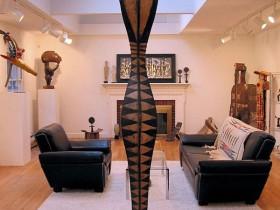 Интерьер квартиры в стиле сафари