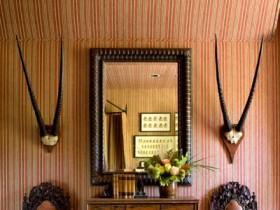 The Safari style of interior room