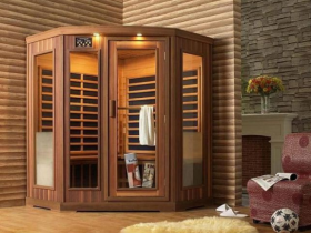 Ready-made sauna in the apartment