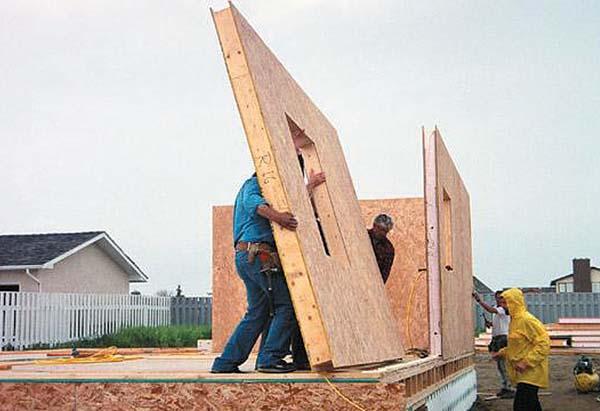 Сборные конструкции жилых домов