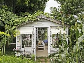Сільський садовий стиль