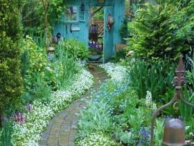 Ландшафтний дизайн саду кантрі