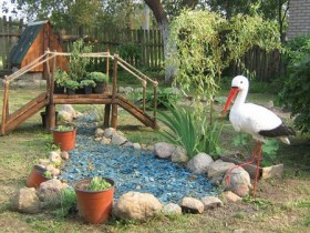Garden decoration in country style