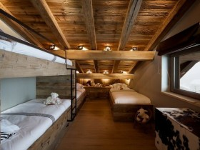 Children's room in a Chalet style