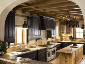 Kitchen in Chalet style