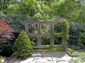 Шпалеры садовая з аконнай рамы