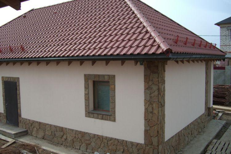 Дизайн штукатурки фасада дома фото