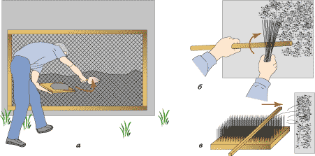 Способы нанесения штукатурки шуба своими руками