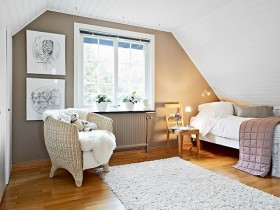 Room in Scandinavian style