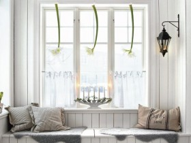 Entrance hall Scandinavian style