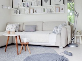 The Scandinavian style furniture