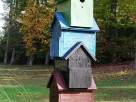 High-rise birdhouse