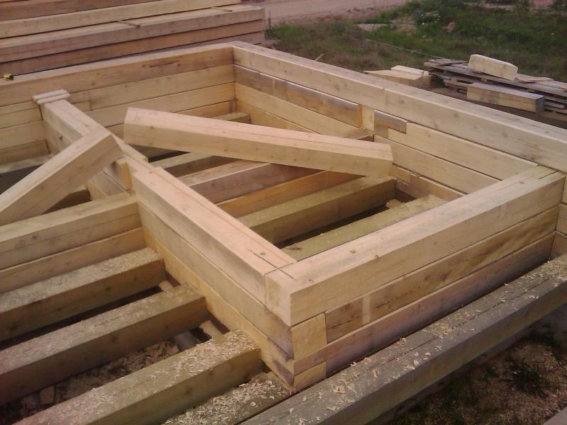 Построим баня из бруса своими руками 26