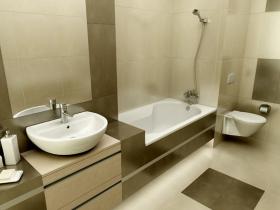 The idea of finishing a bath room