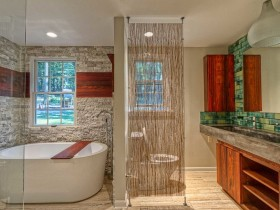 The idea of dividing a combined bathroom