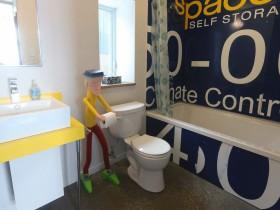 Creative design combined bathroom