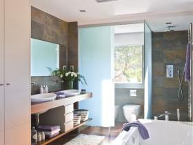 Interior design bath room