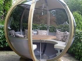 Modern design garden gazebos