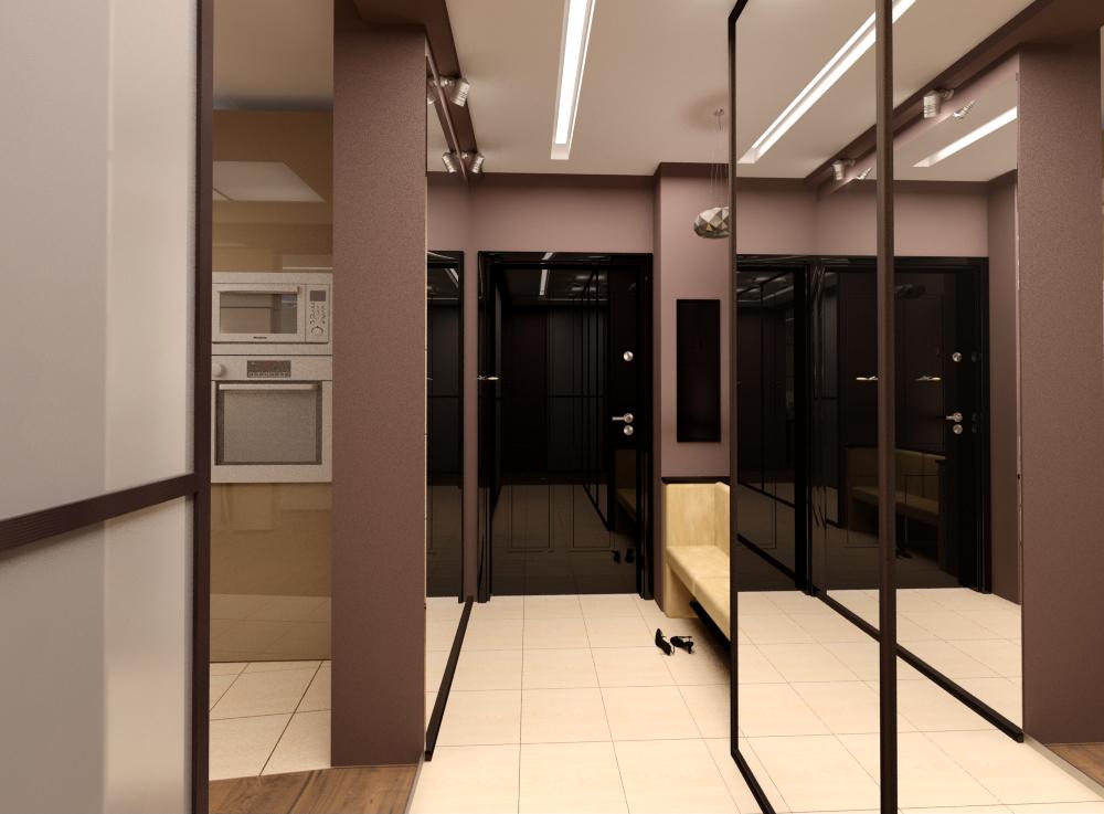 Интерьер и дизайн 1 комнатной квартиры