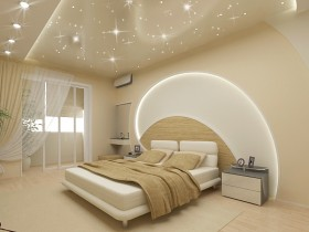 Design project of modern bedroom