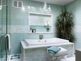 Идея дизайна ванной комнаты небольшого размера